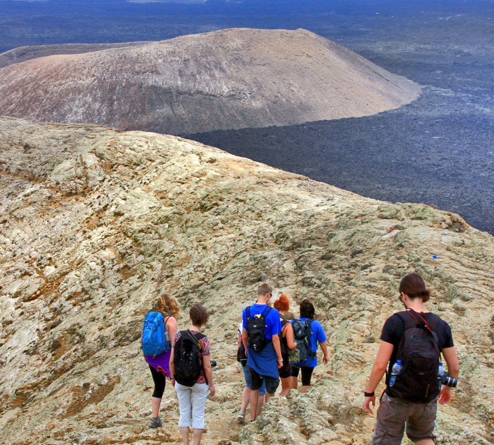 eco-insider volcano walks lanzarote