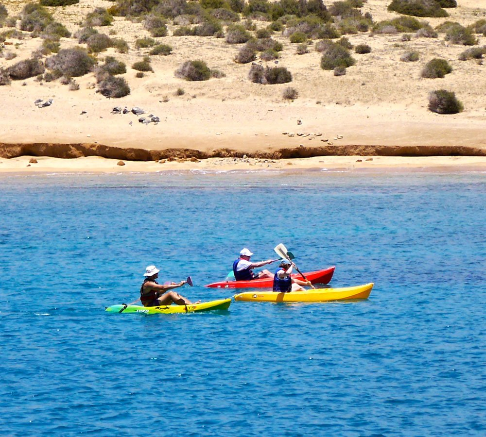 la graciosa kayak sailing