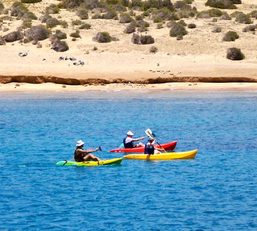 la graciosa kayak sailing