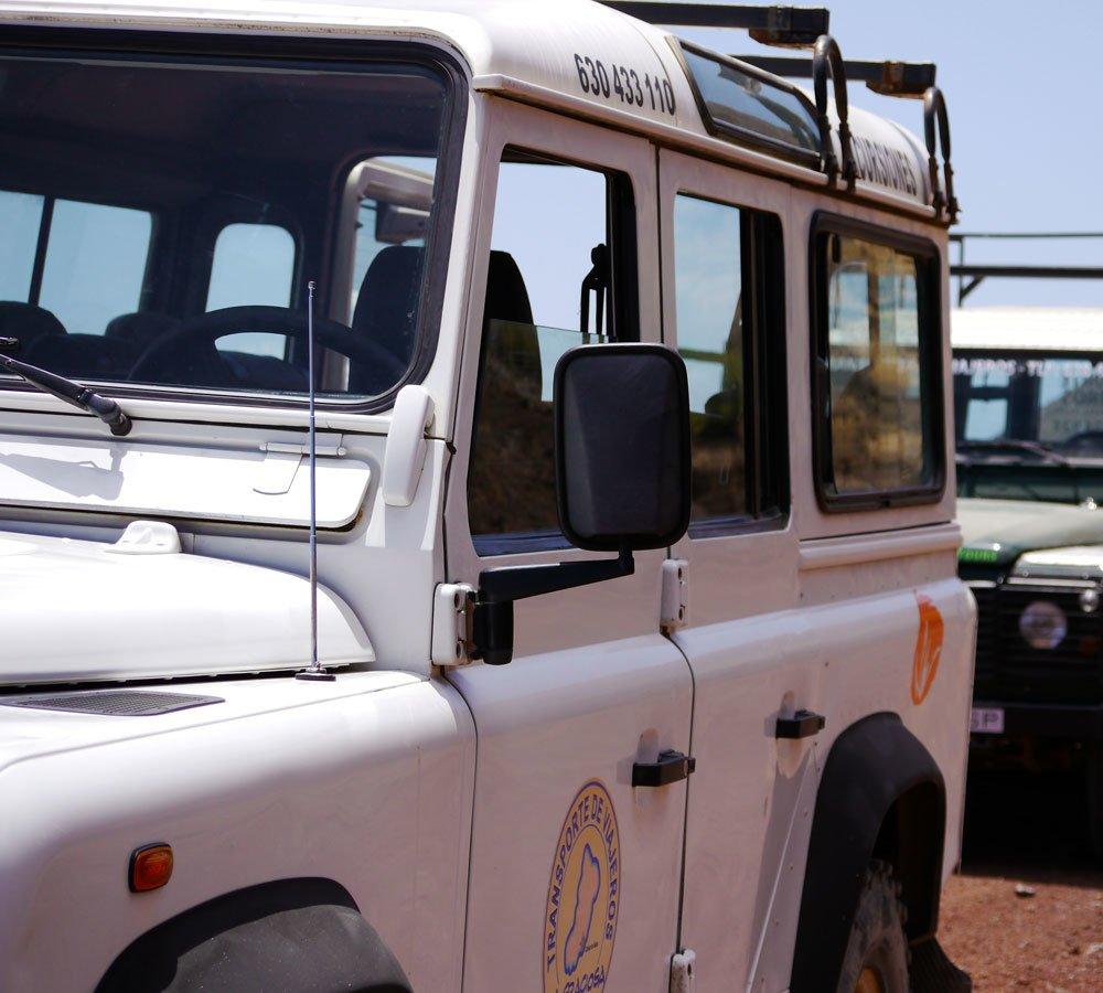 jeep safari la graciosa