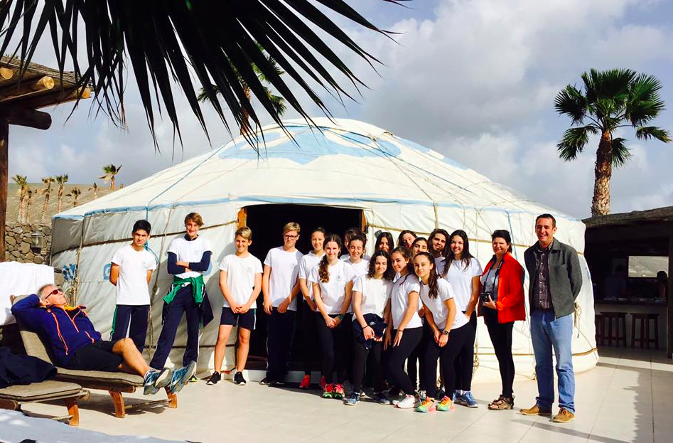 ecotourism with British School of Lanzarote and Lanzarote Retreats