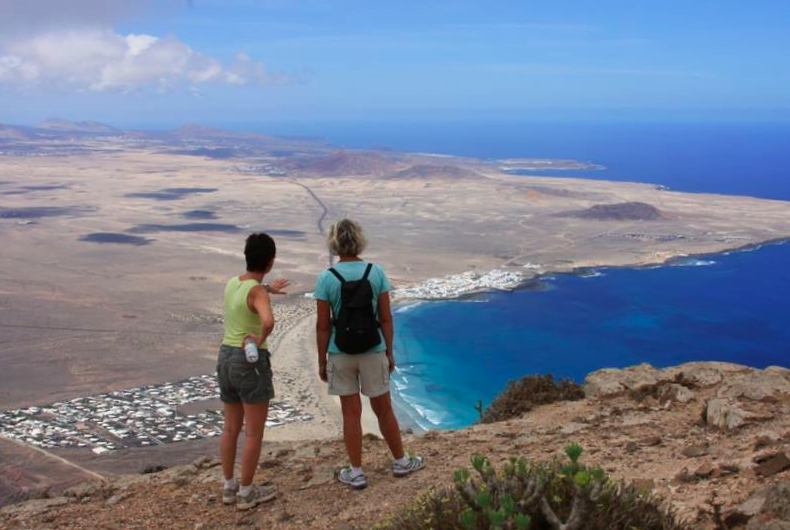 Cliff Hike, Guided Walk in Lanzarote