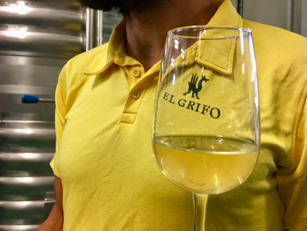 El Grifo Lanzarote Orange Wine 2018. Wine Tasting with eco-Insider.com