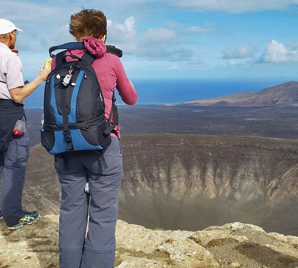 volcano walks lanzarote